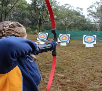 Cycle Archery In Olympic Park Sydney Jamboree 2018
